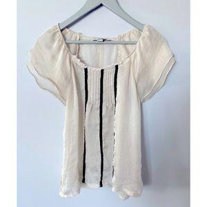 4/$20!! Forever 21 Small Short Sleeve Blouse
